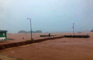 Los efectos de la tormenta tropical Isaías